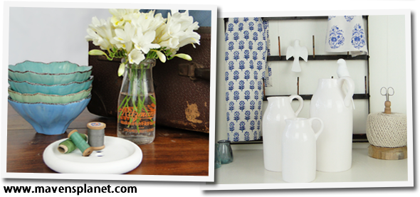 Kitchen and bathroom items